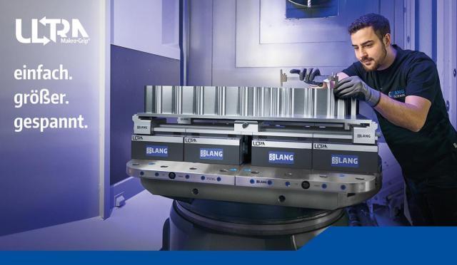 Makro-Grip Ultra - Die LANG Spanntechnik in neuen Dimensionen!