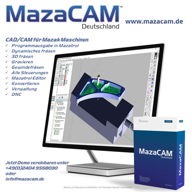 Ein Softwarepaket für alle Mazak Anwendungen