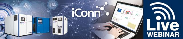Invitation to our webinar (French): iConn compressor service 4.0