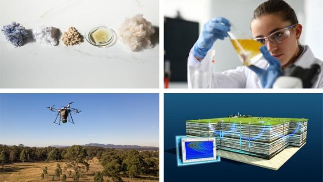 The best green innovations of November 2020: Tree-planting drones and textile recycling