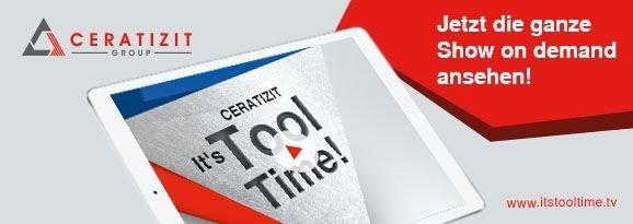 CERATIZIT - It`s Tool Time - Nach der Show ist vor der Show