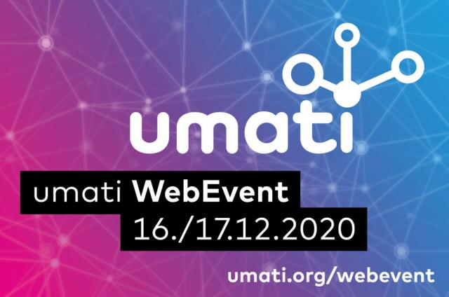 umati Web Event on December 16 and 17, 2020 - register now!