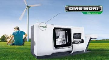 DMG MORI's production completely CO2-neutral as of January 2021