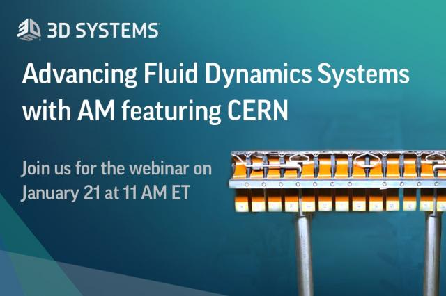 Online-Seminar: Fortschrittliche Fluiddynamik-Systeme mit AM in Kooperation mit dem CERN