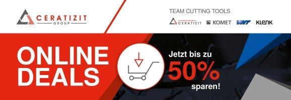 Neuer Online-Deal: Formfräser bis zu 50 % günstiger!