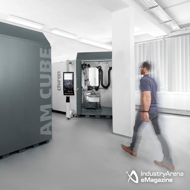 CHIRON präsentiert ersten 3D-Metalldrucker
