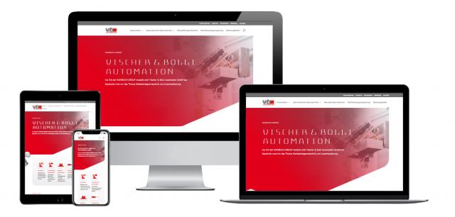 Die neue Website der jüngsten HAINBUCH Tochter »Vischer & Bolli Automation« ist online.