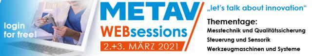 Save the Date METAV Websessions im März!