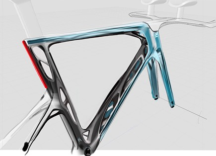 Decathlon entwickelt visionäres Konzeptrennrad