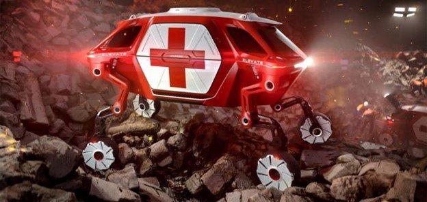 """Hyundai entwickelt """"laufendes Auto"""" mit generativem Design und Autodesk Fusion 360"""