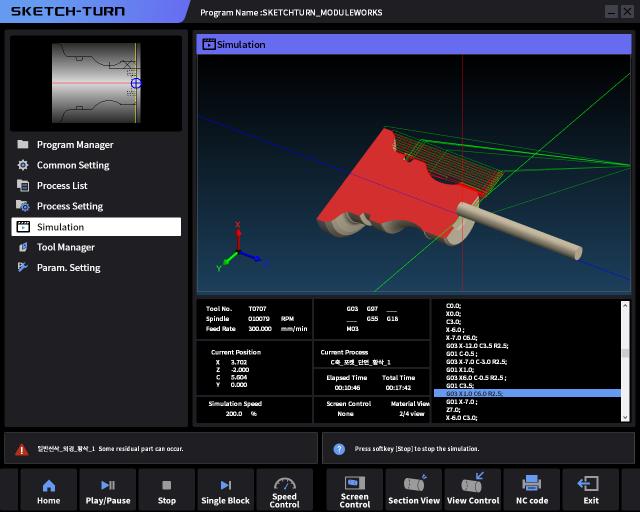Doosan Machine Tools integrates ModuleWorks cutting simulation technology into its Sketch Turn