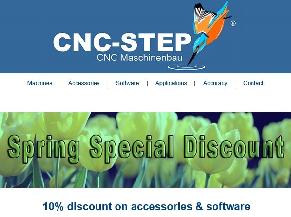 Spring Special Discount on Accessories & Software