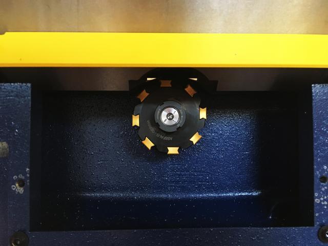 Upgrade für die Kantenfräsmaschine ASO 650!