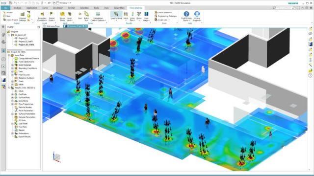 Simulation zur Optimierung der HVAC-Energieeffizienz