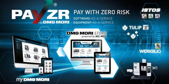 DMG MORI STORE: digital Point-of-Sale for Software- and Equipment-as-a-Service