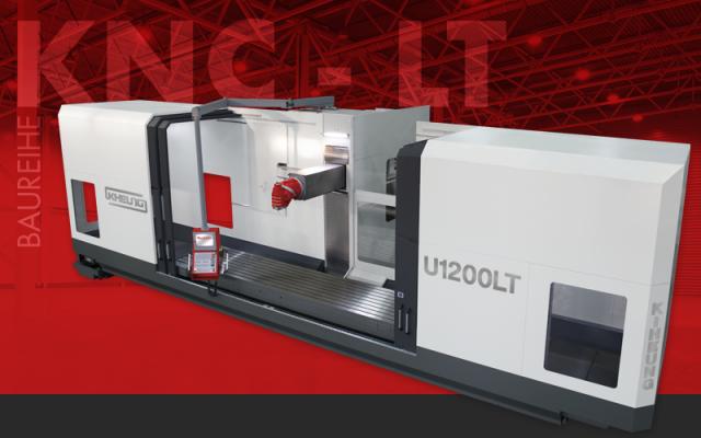 Lineargeführte CNC-Bettfräsmaschinen für die dynamische Bearbeitung bis 25.000 mm/min