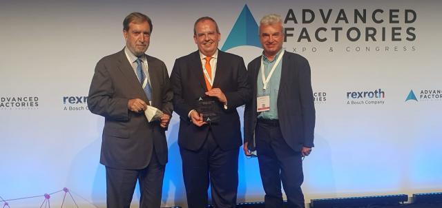 Innovalia Metrology, finalista en los premios Advanced Factories 2021