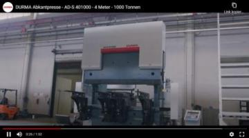 DURMA AD-S 401000 press brake