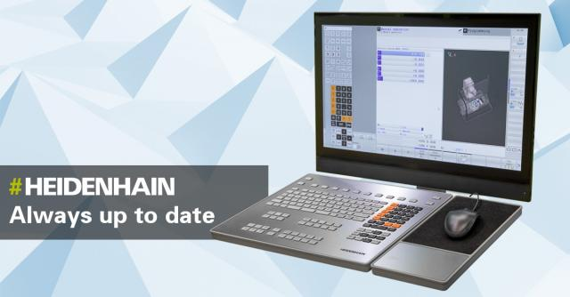 Up-to-date programming and machining with older controls: HEIDENHAIN makes it possible