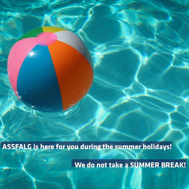 Assfalg does not take a summer break!