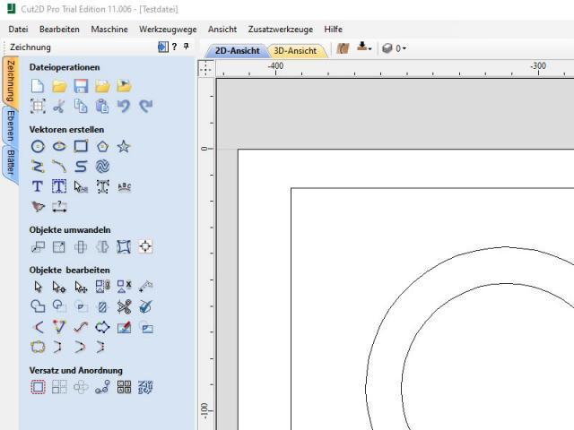 Neu im Online-Shop: Cut2D Pro von Vectric