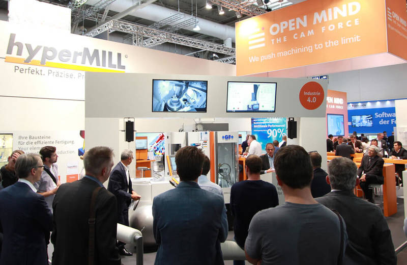 Live demo of the new hyperMILL® VIRTUAL Machining simulation solution