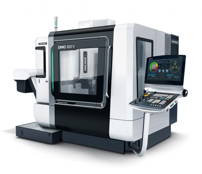 """The new DMGMORI design is optionally available in either """"BLACK"""" or """"WHITE"""" at no extra cost."""