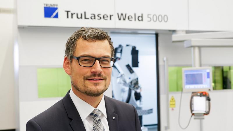 Laser welding saves time and money