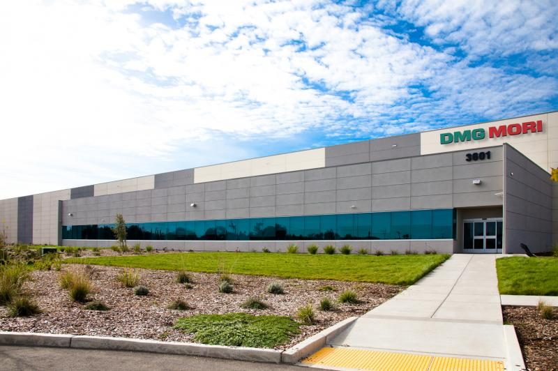 The Manufacturing Factory of DMG MORI in Davis covers 200,000 sq.ft. of manufacturing space and an expansive showroom