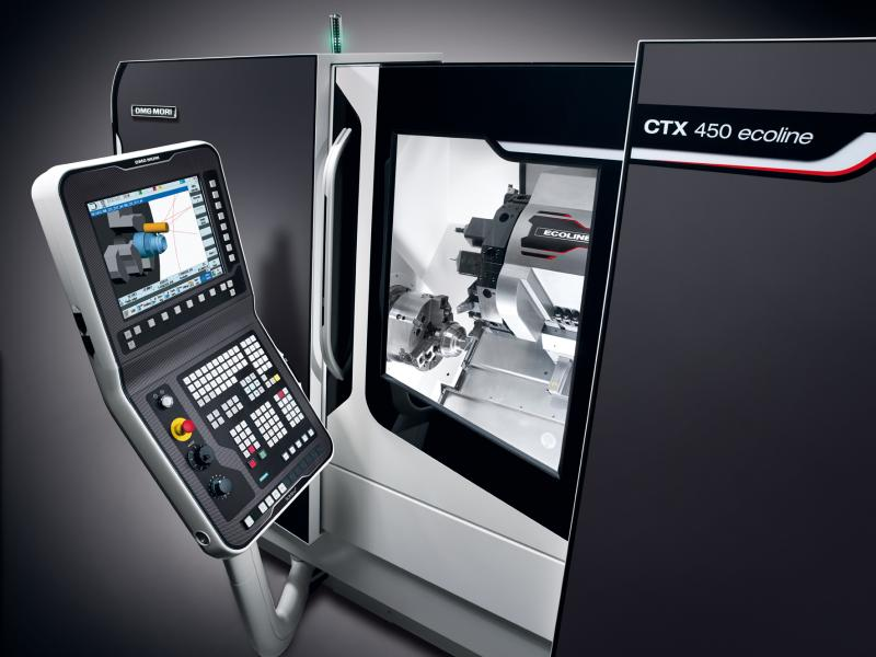 The new CTX 450 <i>ecoline</i> follows the course that ECOLINE has been promoting for years: top technology with proven components at the best price.