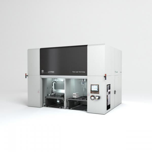 LT-FREE is the 5-axis laser cutting system that the BLM GROUP developed to offer maximum operating flexibility and ease of use in the laser cutting of bent tubes, flat and moulded sheet metal, hydroformed components and welded assemblies. A few technical innovations make the system even more powerful and efficient.