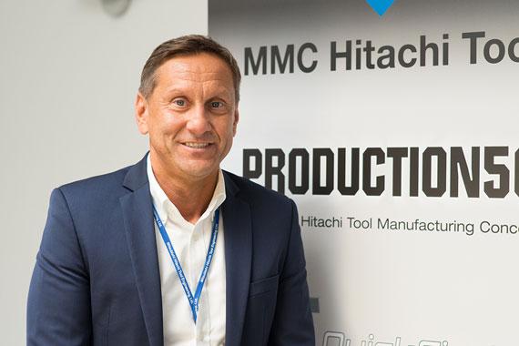Albert Sadowski, Managing Director und COO von MMC Hitachi Tool Engineering Europe
