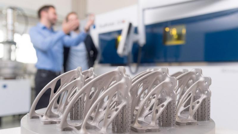 TruPrint 5000 erreicht mit einzigartigem Multilaserprinzip Spitzenzeiten beim 3D-Druck