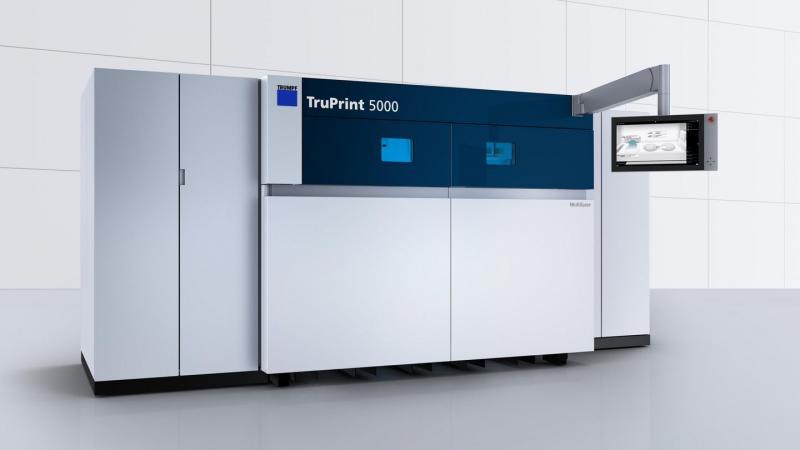 TRUMPF präsentiert den schnellsten 3D-Drucker der Welt