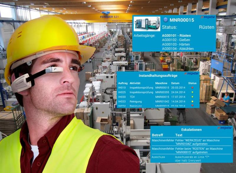 """New SMA application with """"Smart Glasses"""""""