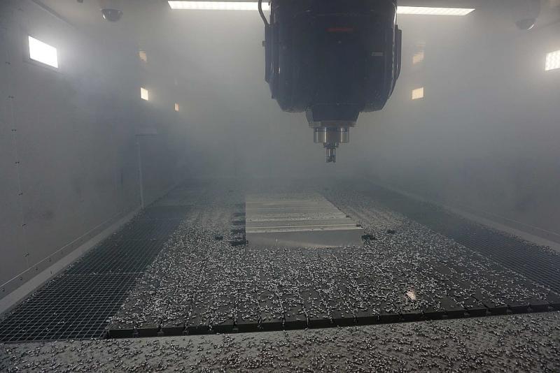 Fräsen einer Stabilitätskarte Aluminium an der VertiMaster AERO 25; Ziel: Prozessparameter