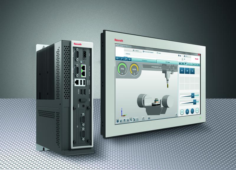 Flexible, robust, easy to connect: Industrial PCs from Rexroth