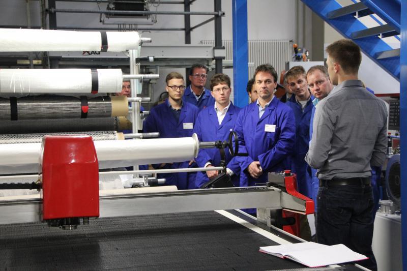Leichtbaufertigung hautnah – WGP Seminar am wbk in Karlsruhe