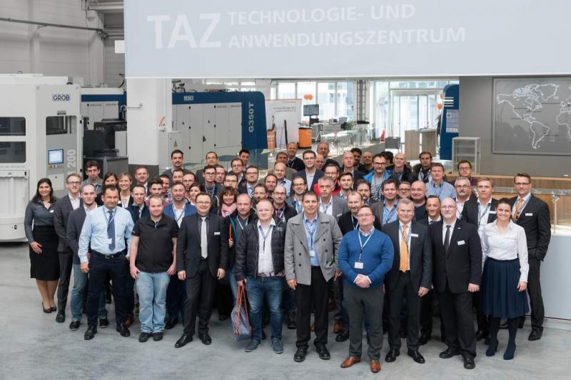 Begeisterte Teilnehmer bei den TDM Days 2017 im GROB-Werk Mindelheim
