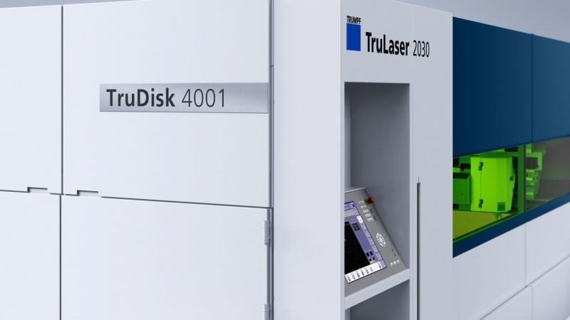 TruLaser 2030 fiber: Kompaktes Kraftpaket fürs Laserschneiden