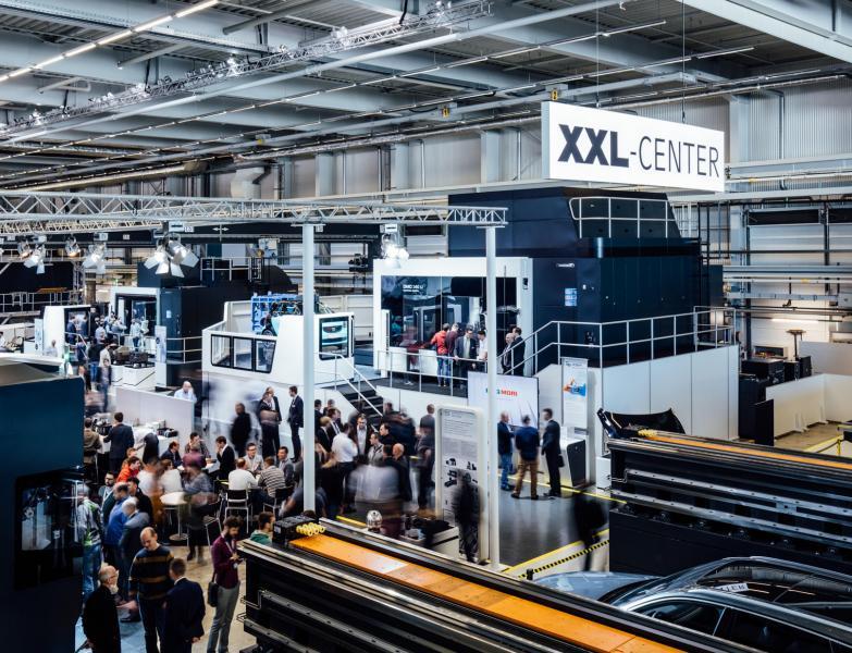 Im XXL-Center konzentriert sich DMG MORI auf die Großteilebearbeitung in den Bereichen Aerospace und Die & Mold.