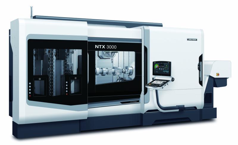 Mit der NTX 3000 präsentiert DMG MORI eine neue Baugröße seiner leistungs-starken Dreh-Fräszentren.