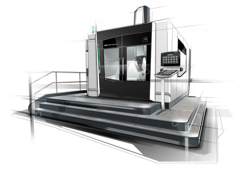 Dynamic five-axis gantry milling