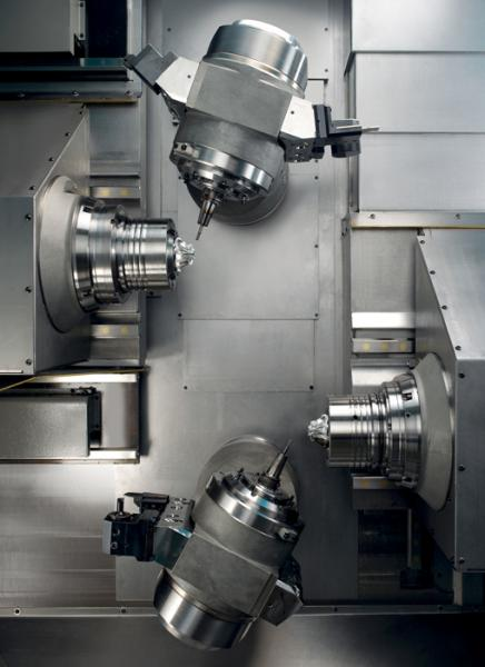 2009: Introduction of 5-axis turn-mill centers of the newest generation