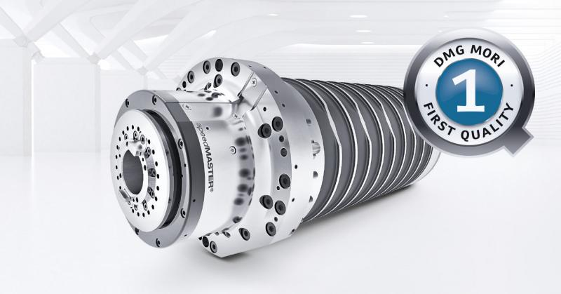 Extreme reliability and significantly longer service life: DMG MORI provides a 36 month warranty on the MASTER spindles – without any hourly limit.