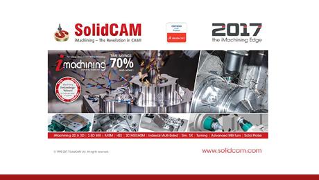 Wir freuen uns, die Freigabe der neuen Version SolidCAM 2017 bekanntgeben zu können! Wieder einmal haben es die SolidCAM Softwareentwickler geschafft, viele neue und praktische Funktionen zu integrieren, welche die tägliche Arbeit mit SolidCAM erleichtern können.  Einen Schnellüberblick über die neuen Funktionen finden Sie hier auf unserer Homepage.