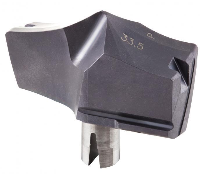 ISCAR hat die CHAM IQ DRILL-Reihe um den Durchmesserbereich 33 bis 40 Millimeter in Bohrtiefen 1,5 bis 8xD erweitert.