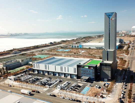 Mitsubishi Electric's New South Korean Elevator Plant to Start Up