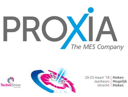 Auf der diesjährigen Techni-Show präsentiert unser niederländischer Partner CNC-Consult & Automation neben CAD/CAM-Lösungen auch die MES-Lösung von PROXIA.