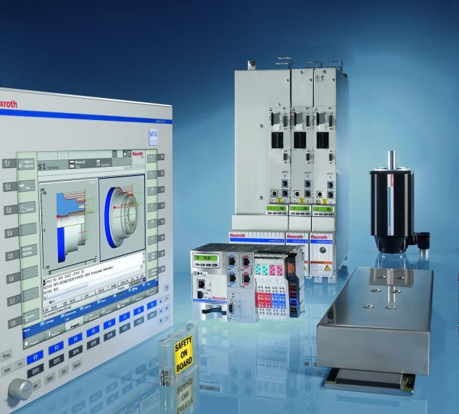 CNC-Lösung IndraMotion MTX mit Mehr-Kern-Prozessor und zusätzlichen Softwarefunktionen